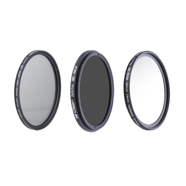 فیلتر لنز کی اند اف مدل KF 82mm مجموعه 3 عددی