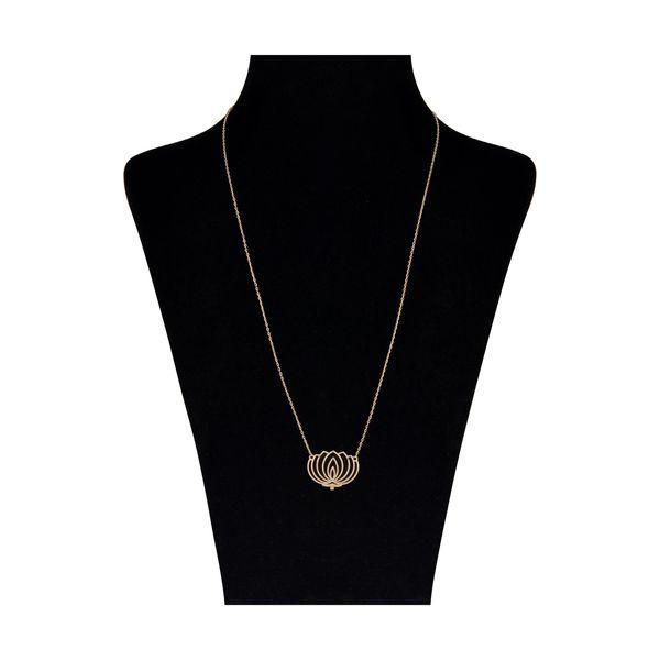 گردنبند طلا 18 عیار زنانه نیوانی مدل GA205