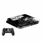 برچسب پلی استیشن 4 اسلیم پلی اینفینی مدل The Last of Us Part II به همراه برچسب دسته