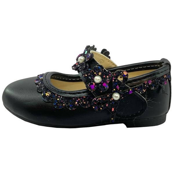 کفش دخترانه طرح شکوفه مدل 3557