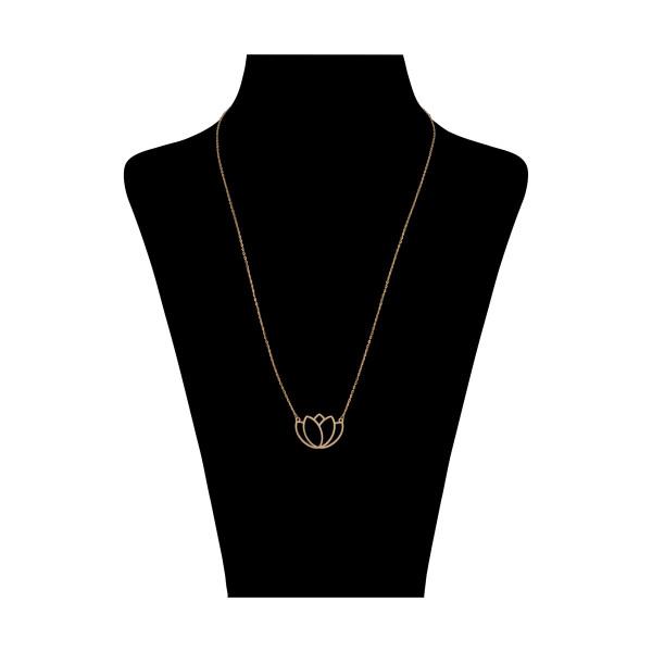 گردنبند طلا 18 عیار زنانه نیوانی مدل GA206