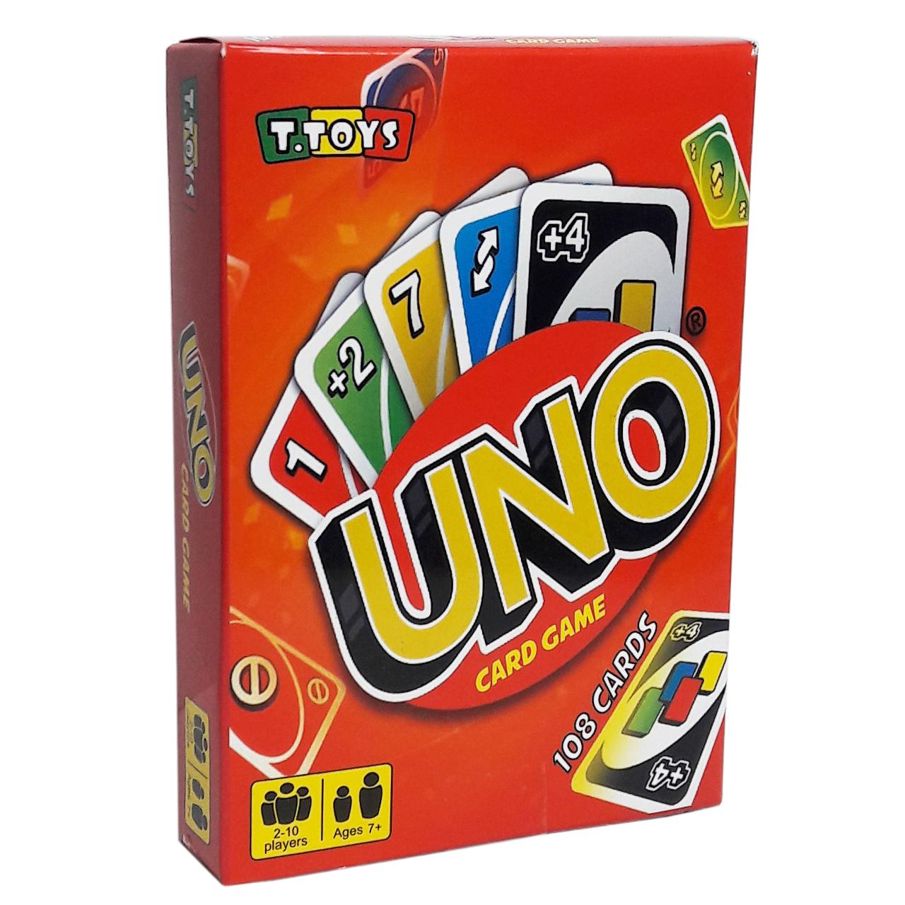 بازی فکری تی توی مدل UNO108