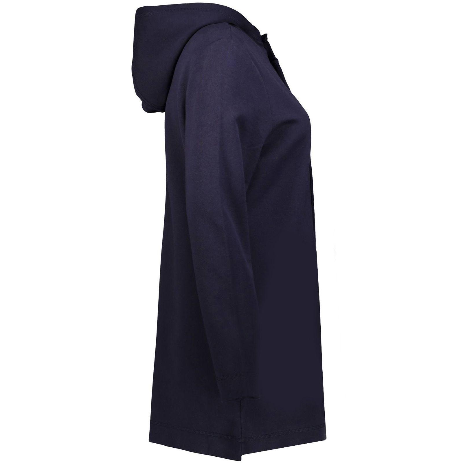 هودی زنانه طرح میکی موس کد H17 رنگ سورمه ای main 1 2