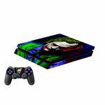برچسب پلی استیشن 4 اسلیم پلی اینفینی مدل Joker 08 به همراه برچسب دسته