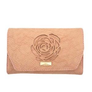 کیف پول زنانه طرح گل رز