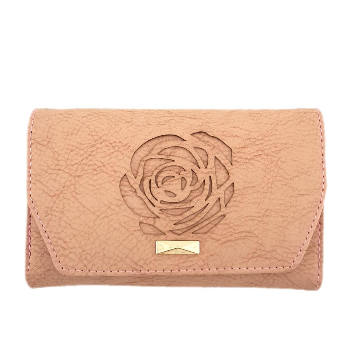 کیف پول زنانه طرح گل رز -  - 2
