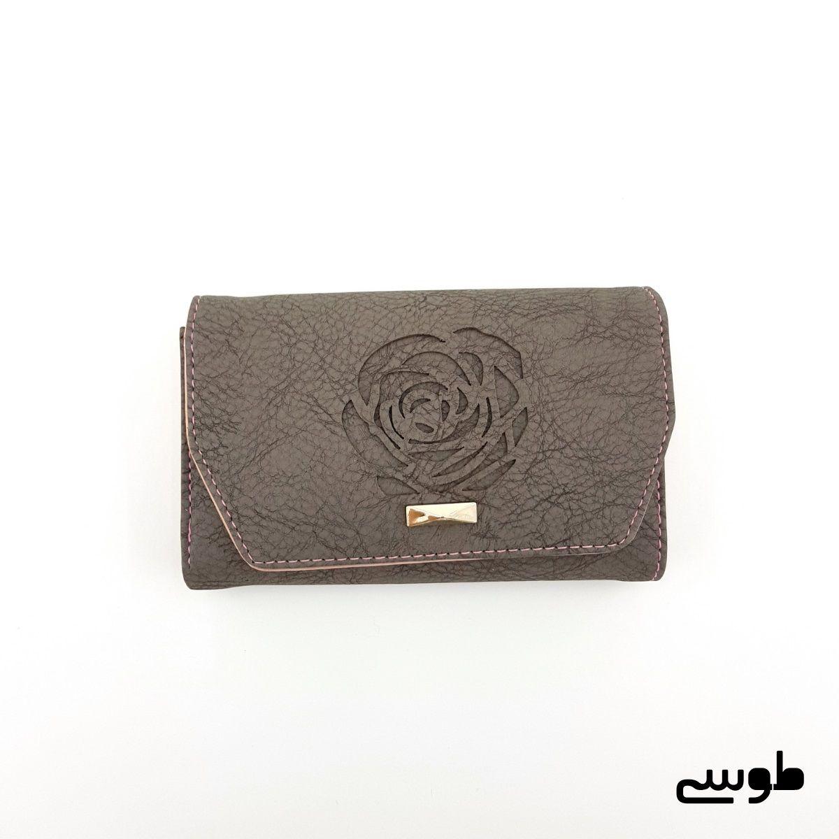 کیف پول زنانه طرح گل رز -  - 5