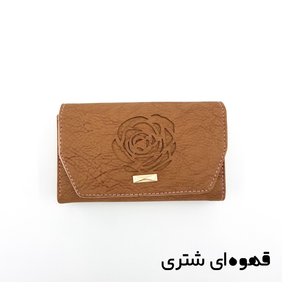 کیف پول زنانه طرح گل رز -  - 6