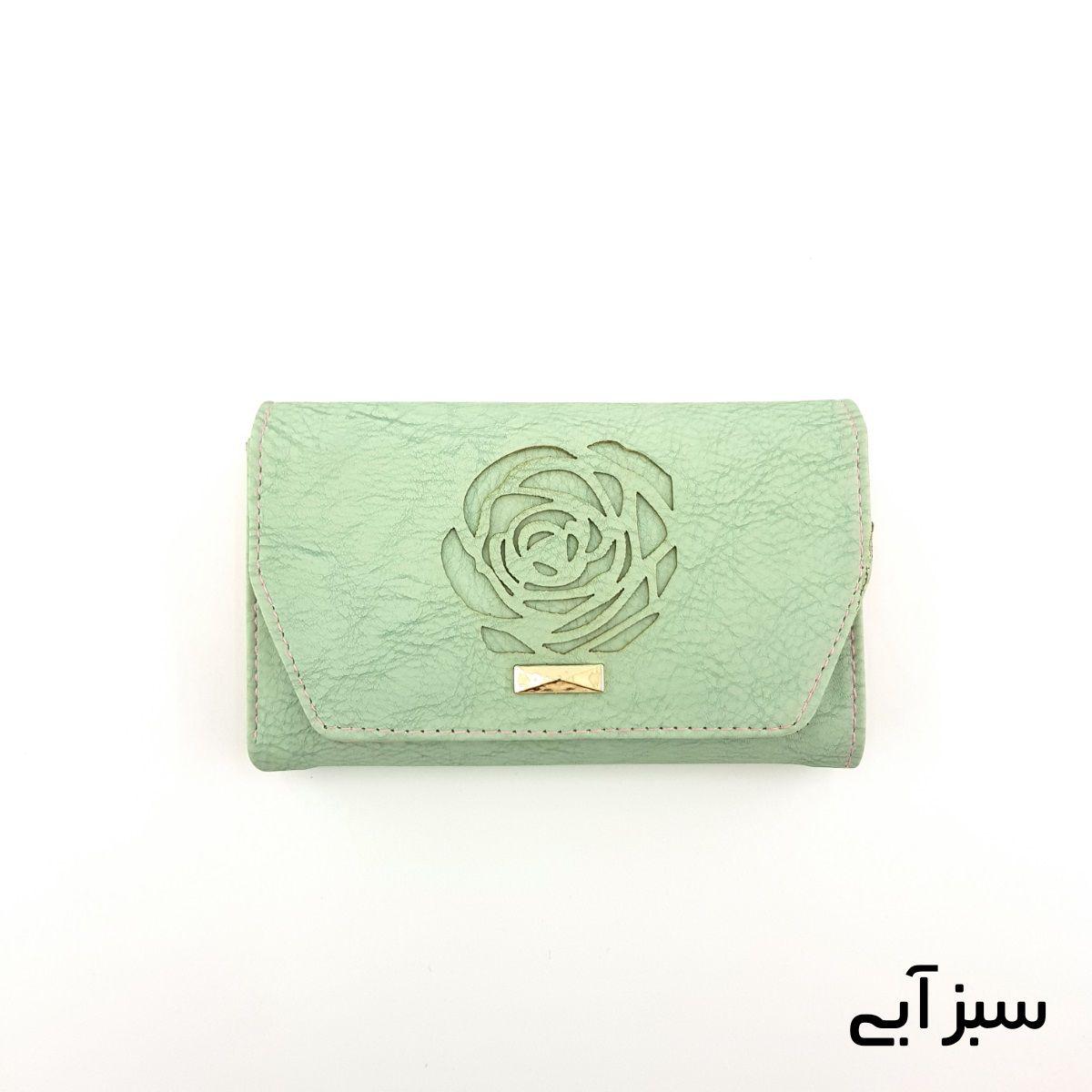 کیف پول زنانه طرح گل رز -  - 8