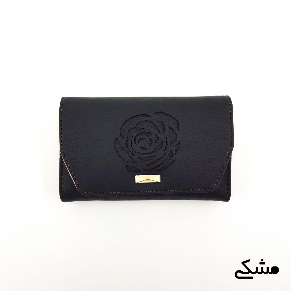 کیف پول زنانه طرح گل رز -  - 9
