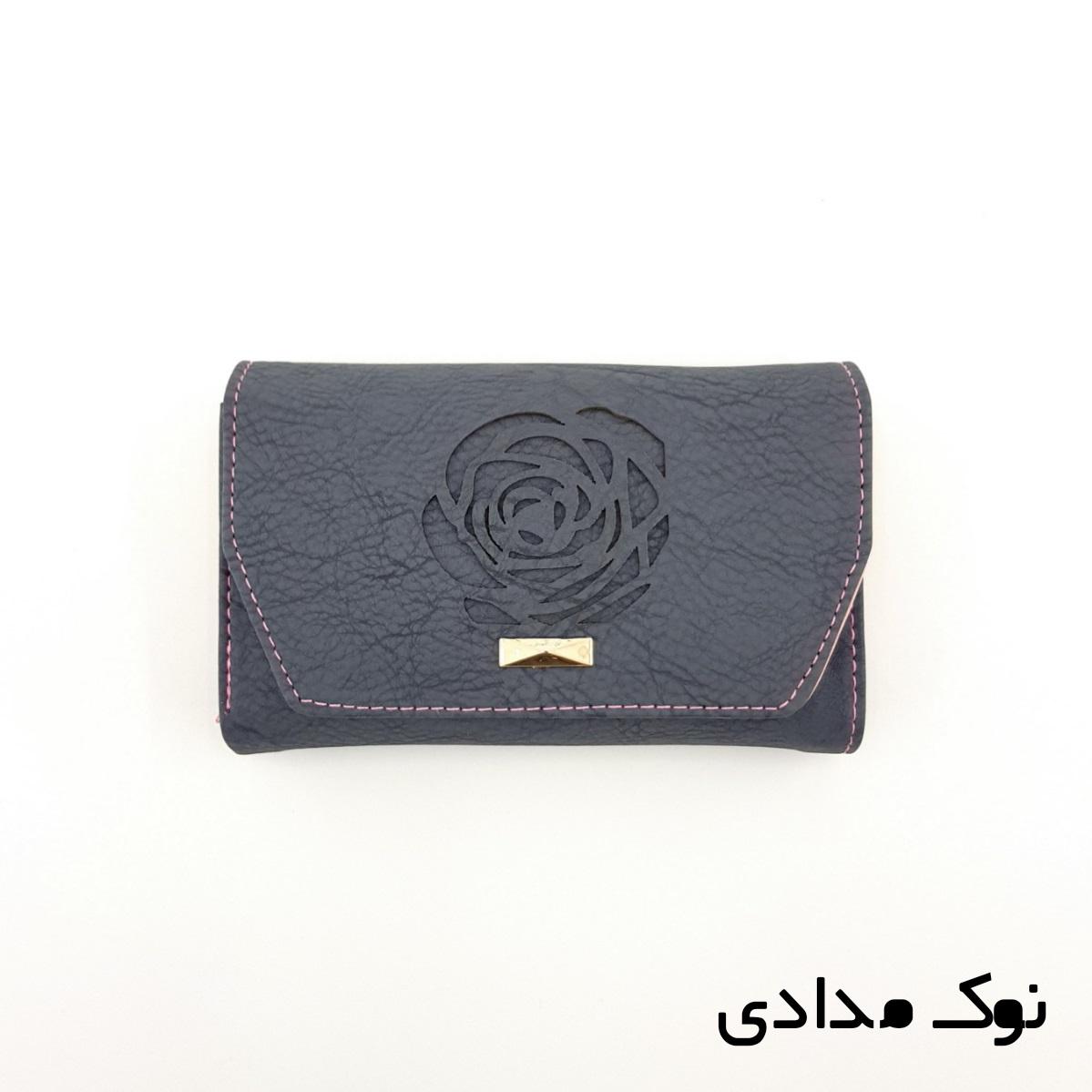 کیف پول زنانه طرح گل رز -  - 11