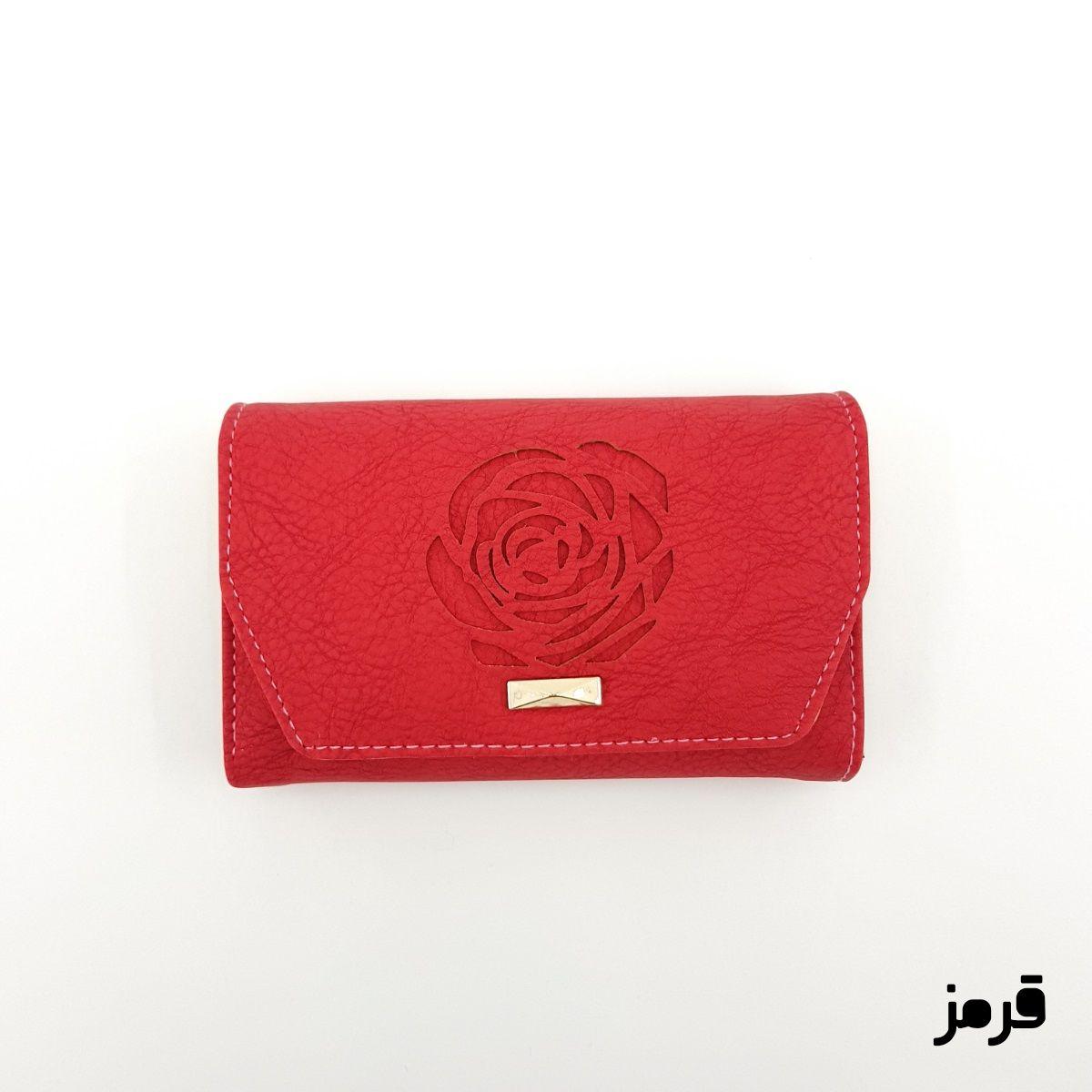 کیف پول زنانه طرح گل رز -  - 13