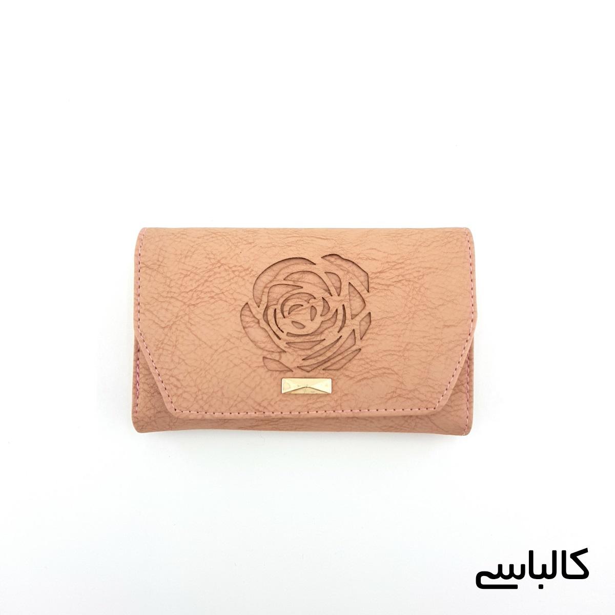 کیف پول زنانه طرح گل رز -  - 14