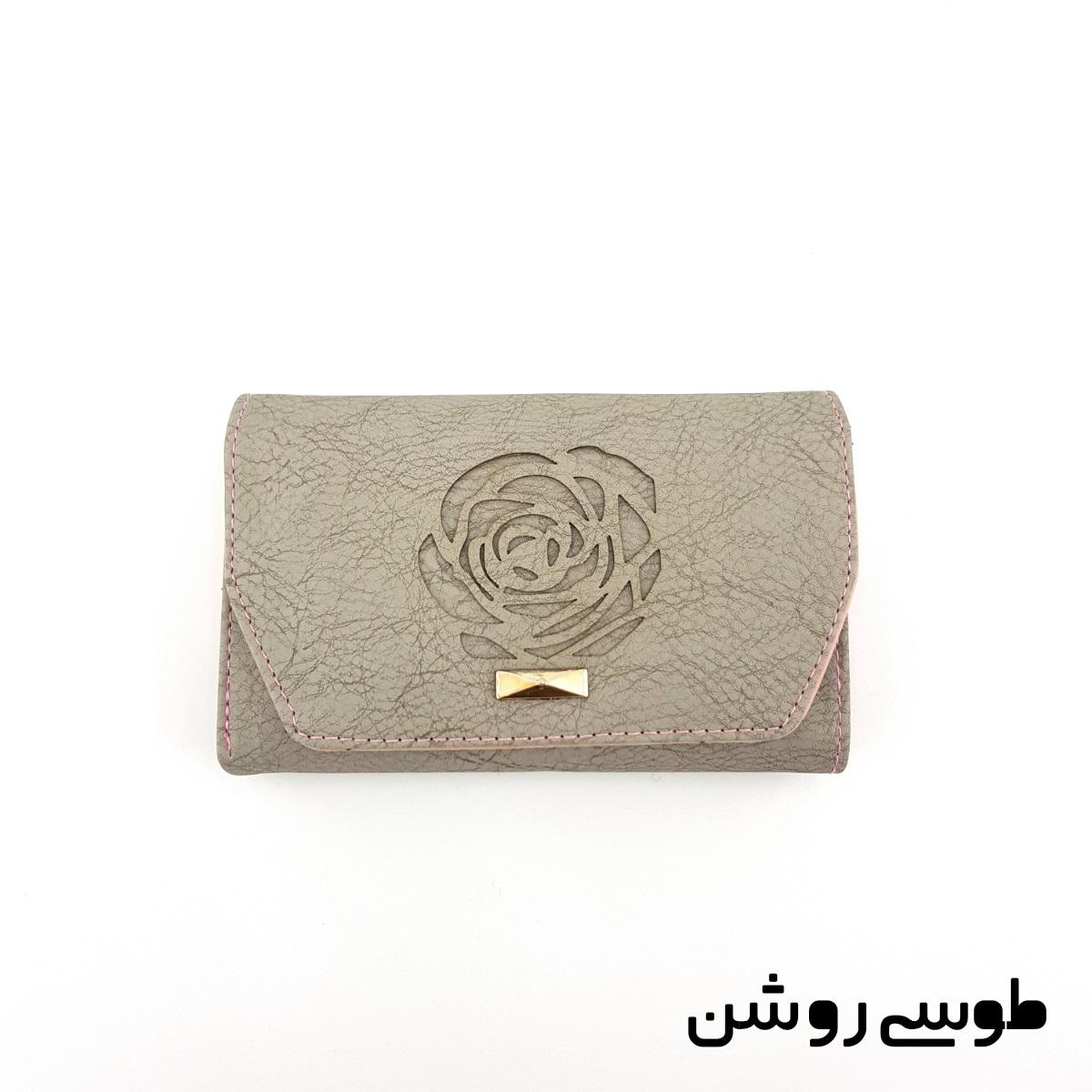 کیف پول زنانه طرح گل رز -  - 15
