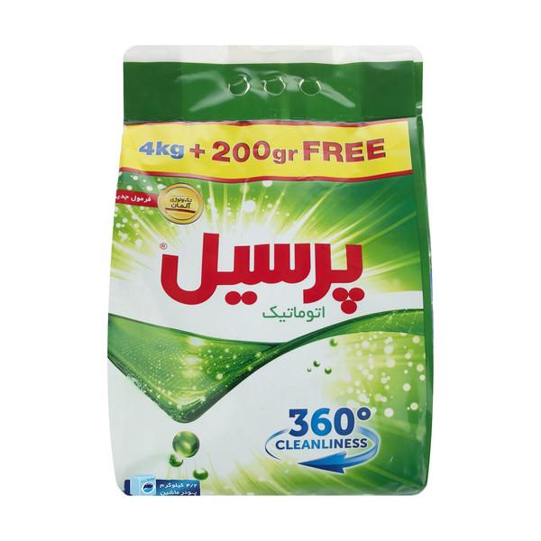 پودر ماشین لباسشویی پرسیل مدل 360 Cleanliness مقدار 4200 گرم