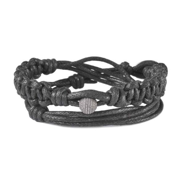 دستبند مردانه درگون جولری مدل WO17