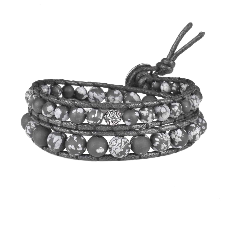 دستبند مردانه درگون جولری مدل WO19