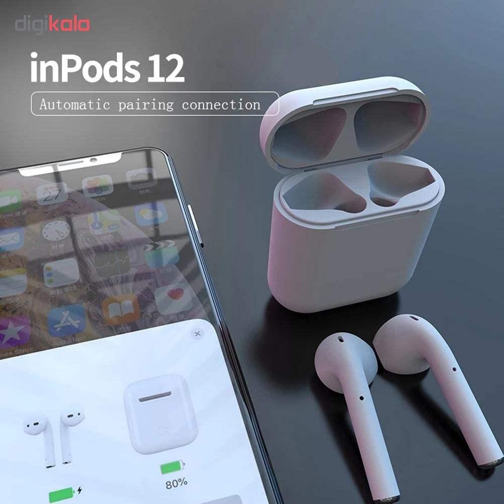 هدفون بلوتوث مدل inpods 12