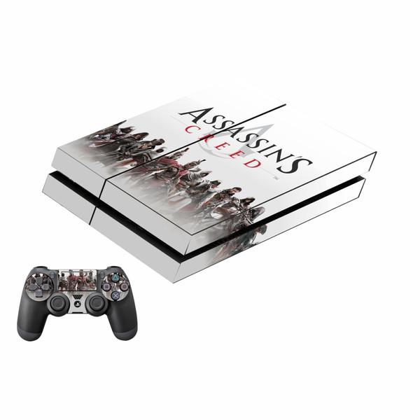 برچسب پلی استیشن 4 فت پلی اینفینی مدل Assassin's Creed به همراه برچسب دسته