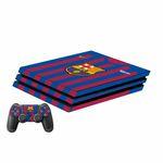 برچسب پلی استیشن 4 پرو پلی اینفینی مدل FC Barcelona به همراه برچسب دسته