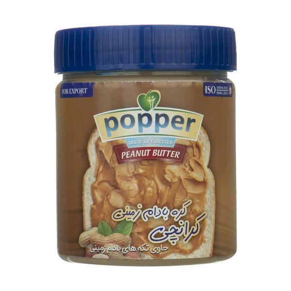 کره بادام زمینی کرانچی پوپر - 385 گرم