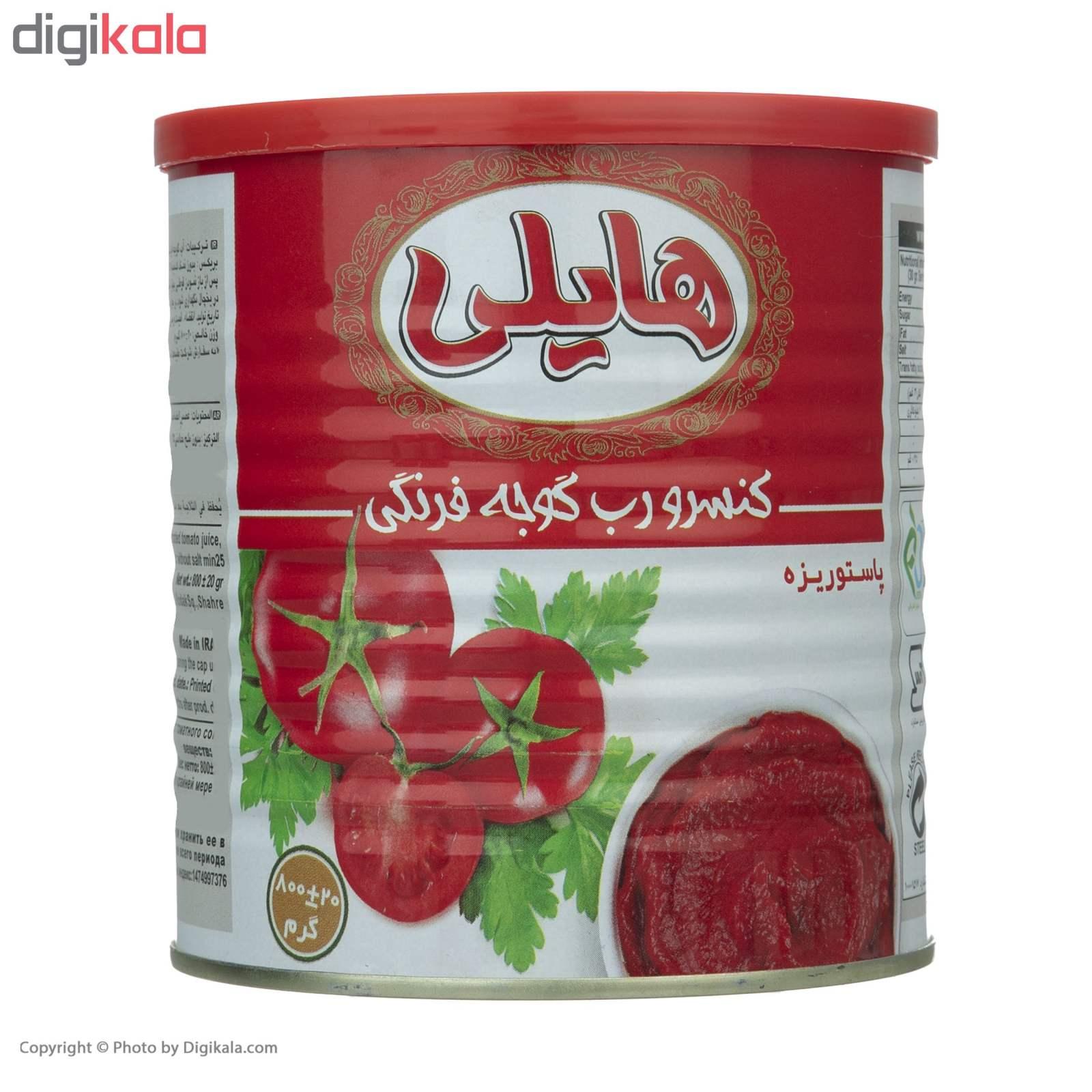 رب گوجه فرنگی هایلی - 800 گرم main 1 1