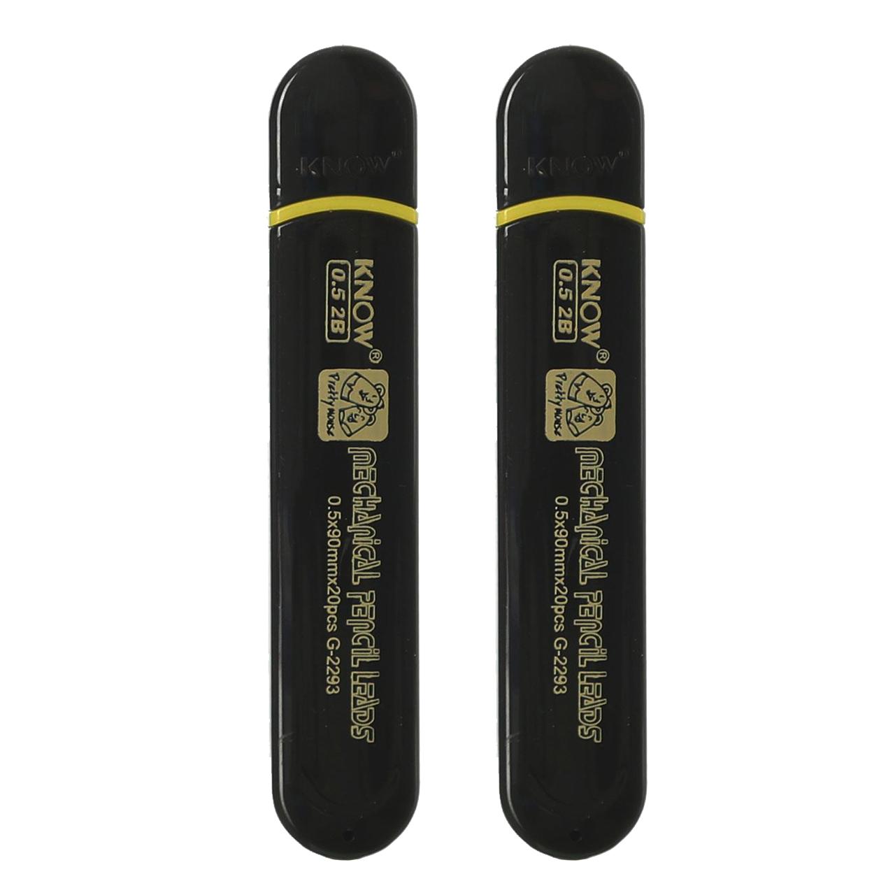 نوک مداد نوکی 0.5 میلی متری نو مدل G-2293 بسته 2 عددی