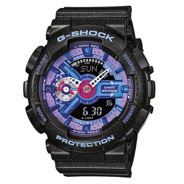 ساعت مچی عقربه ای کاسیو مدل جی شاک کد GMA-S110HC-1ADR