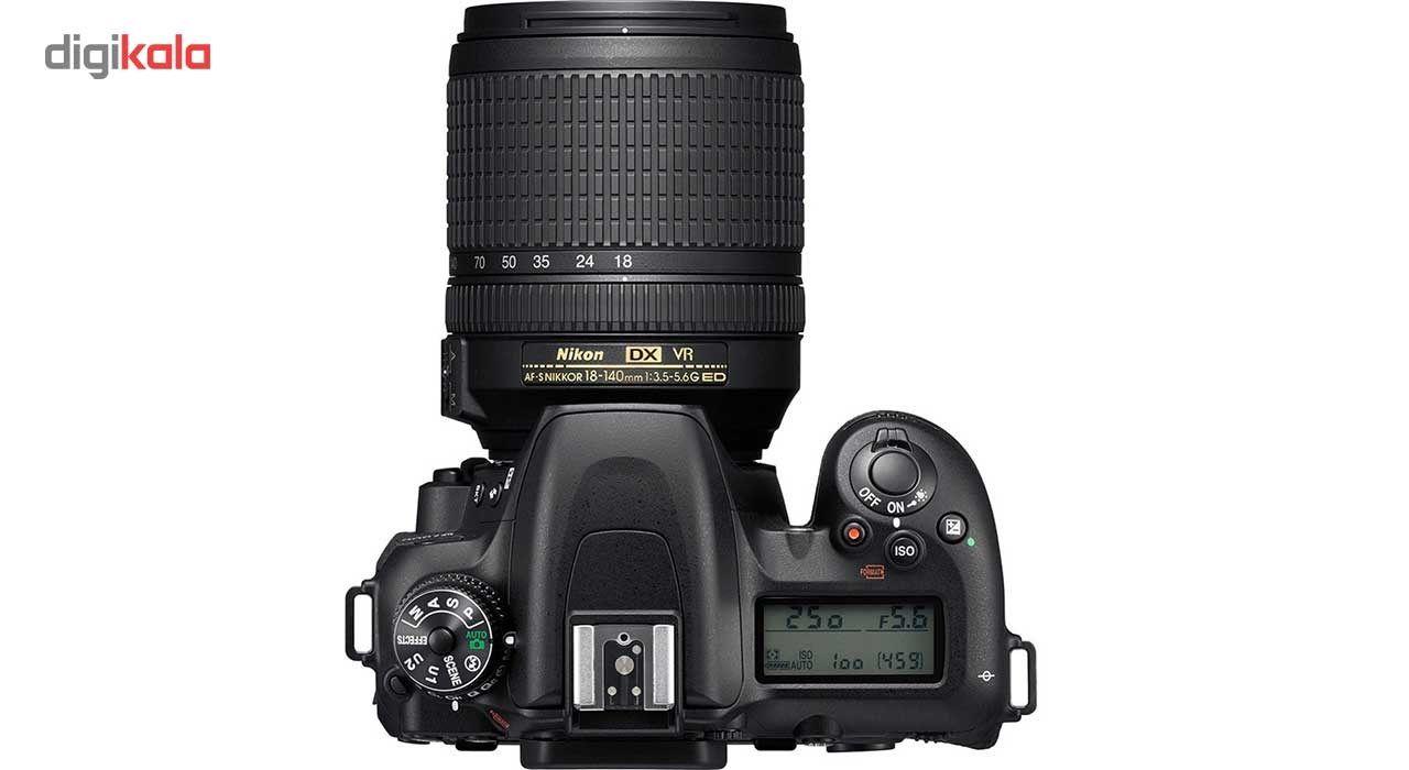 دوربین دیجیتال نیکون مدل D7500 به همراه لنز 18-140 میلی متر VR AF-S DX main 1 2