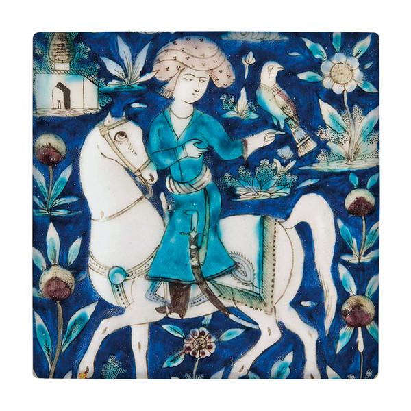کاشی طرح نگارگری شاهزاده ایرانی کد wk169