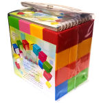 بازی آموزشی مکعب های رنگی دانشمند مدل A48