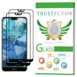 محافظ صفحه نمایش تراستکتور مدل GSS مناسب برای گوشی موبایل نوکیا 7.1 بسته 2 عددی