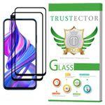 محافظ صفحه نمایش تراستکتور مدل GSS مناسب برای گوشی موبایل آنر 9X بسته 2 عددی