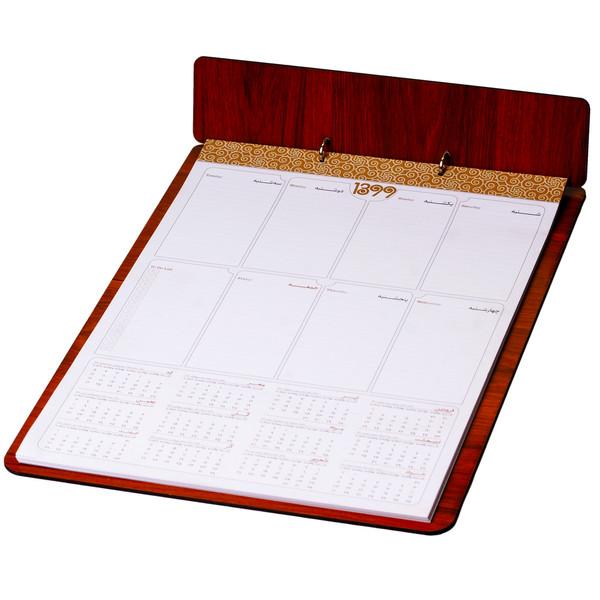 تقویم رومیزی سال 1399 مدل چیستا کد 44