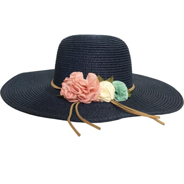 کلاه دخترانه کد 014 رنگ سرمه ای
