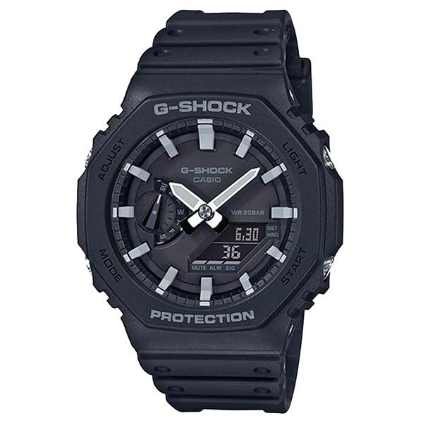 کد تخفیف                                      ساعت مچی عقربه ای مردانه کاسیو مدل جی شاک کد GA-2100-1ADR