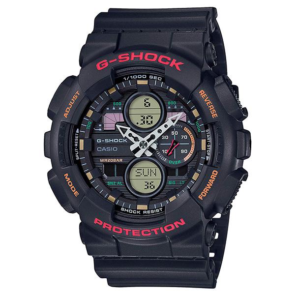 کد تخفیف                                      ساعت مچی عقربه ای مردانه کاسیو مدل جی شاک کد GA-140-1A4DR
