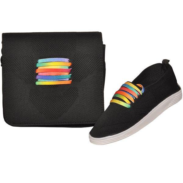 ست کیف و کفش زنانه کد sg806