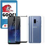 محافظ صفحه نمایش گوف مدل FUG-022 مناسب برای گوشی موبایل سامسونگ Galaxy S9 به همراه محافظ پشت گوشی مدل TPG-022