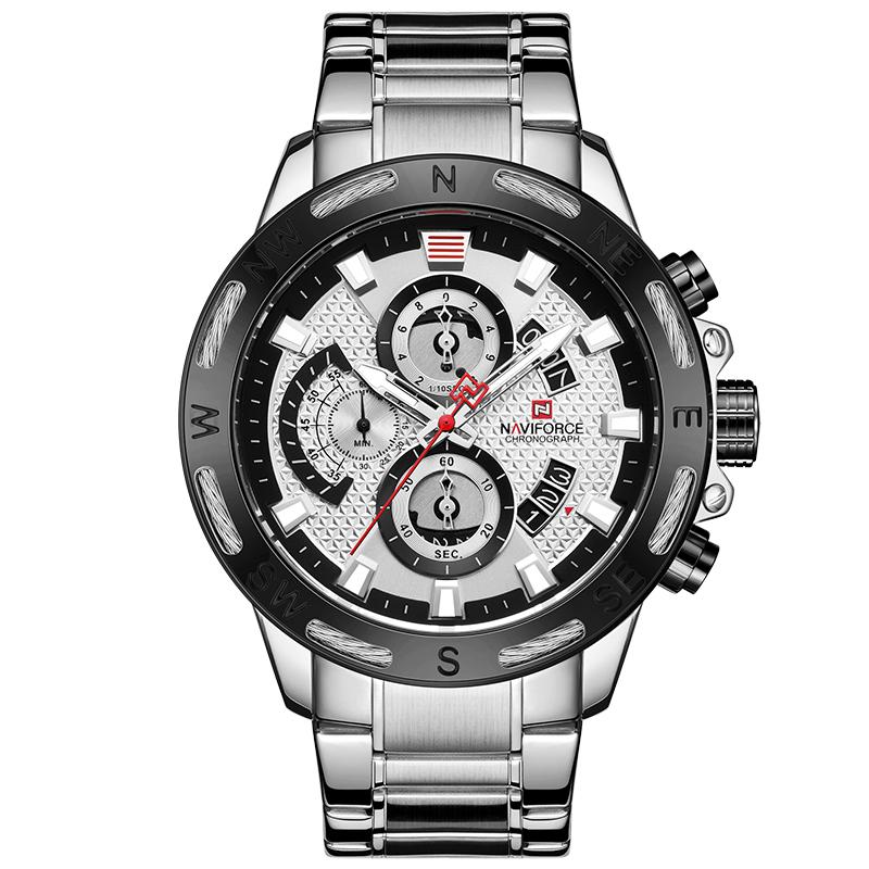 کد تخفیف                                      ساعت مچی عقربه ای مردانه نیوی فورس مدل NF9165M- S-W