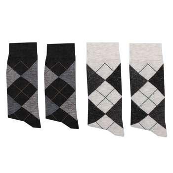 جوراب مردانه کد B005 بسته 4 عددی