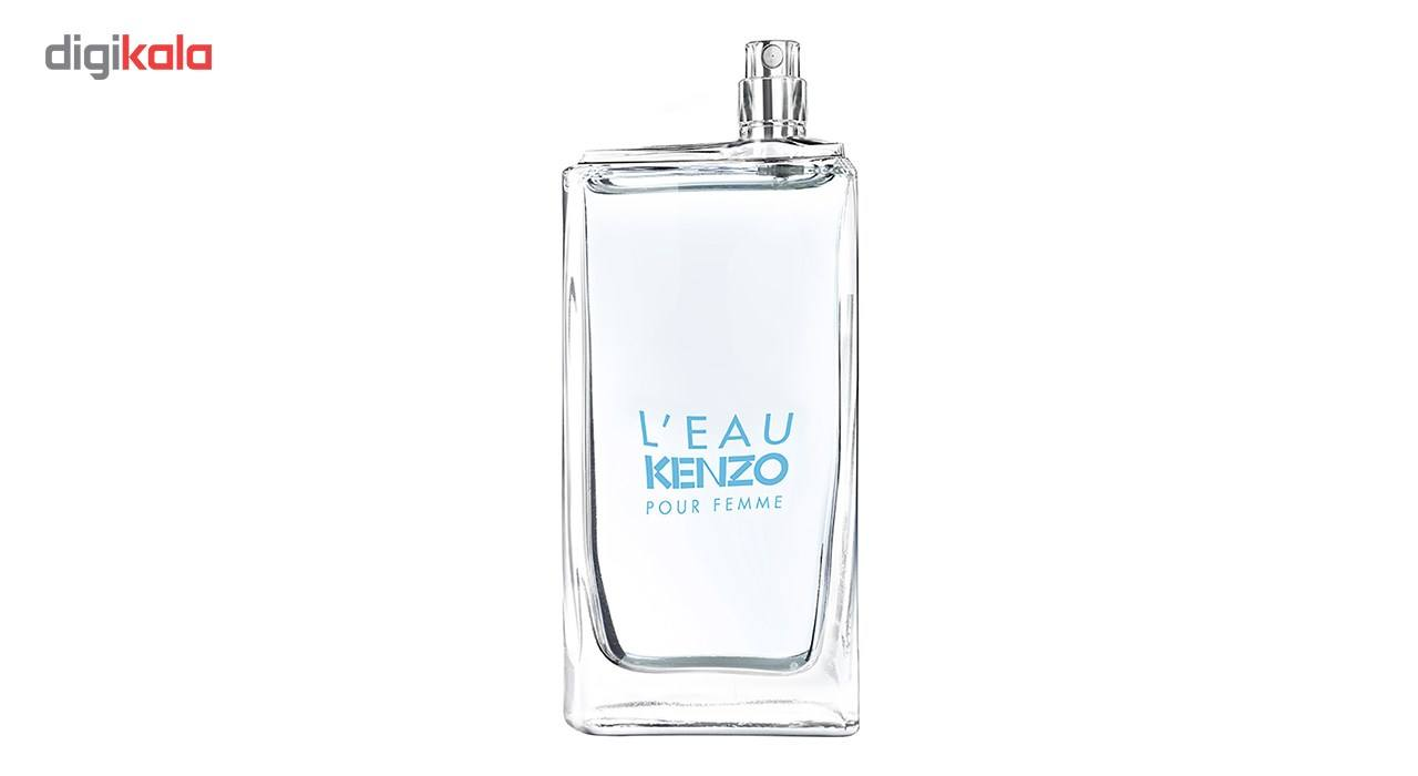 تستر ادو تویلت زنانه کنزو مدل LEau Kenzo حجم 100 میلی لیتر -  - 3