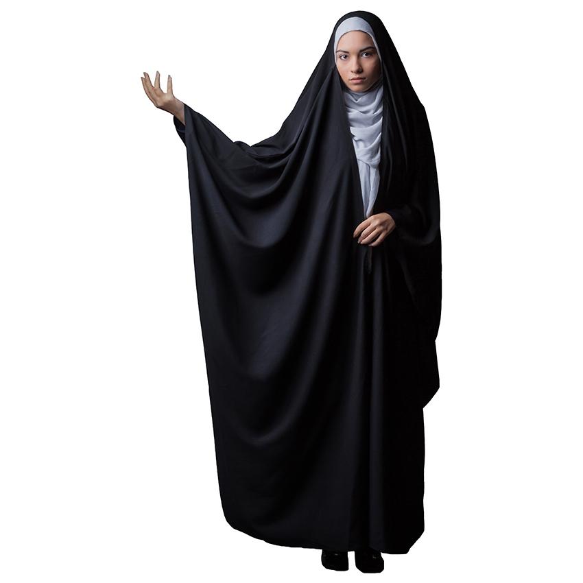 چادر جده حجاب فاطمی مدل عبائی کد Jor 1045