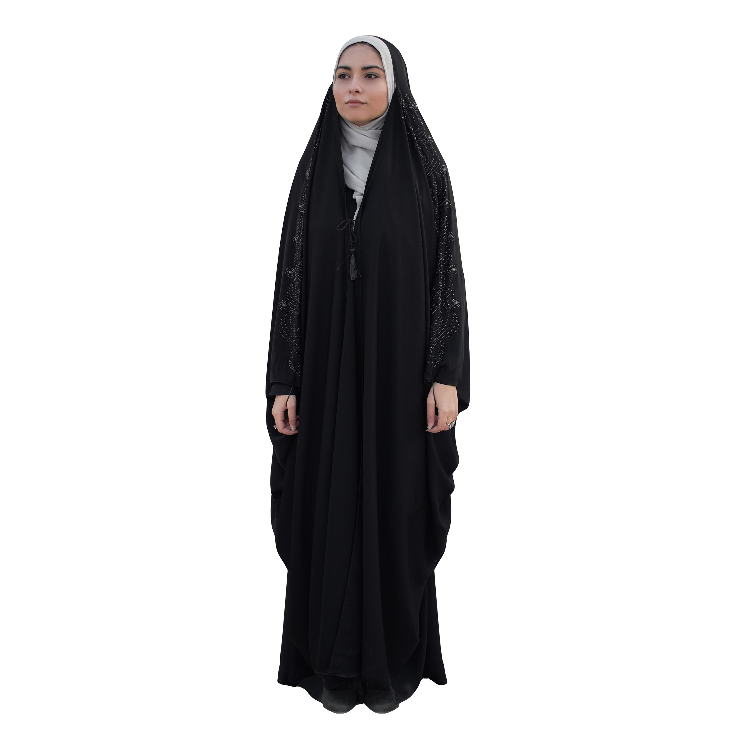 چادر حجاب فاطمی مدل اسرا کد Kan 1048