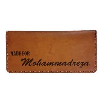 کیف پول مردانه طرح اسم محمدرضا
