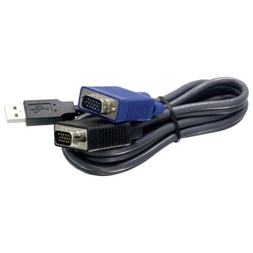 USB کابل 1.8 متری KVM  ترندنت مدل  TK-CU06
