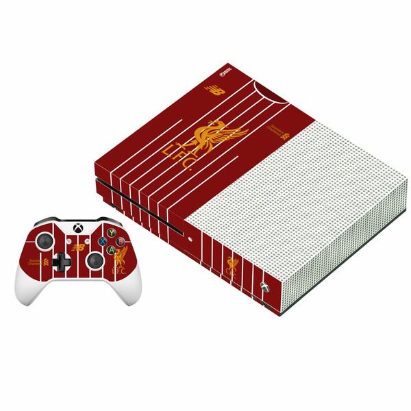 برچسب ایکس باکس وان اس پلی اینفینی مدل Liverpool FC به همراه برچسب دسته