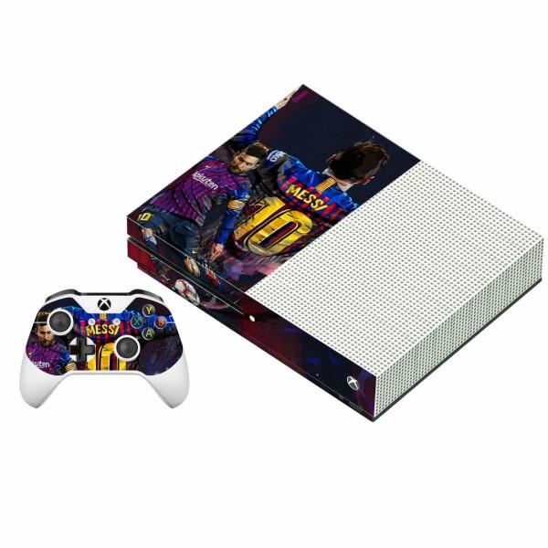 برچسب ایکس باکس وان اس پلی اینفینی مدل Lionel Messi به همراه برچسب دسته