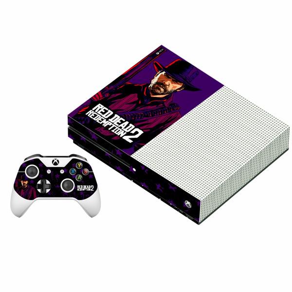 برچسب ایکس باکس وان اس پلی اینفینی مدل Red Dead Redemption 2 01 به همراه برچسب دسته