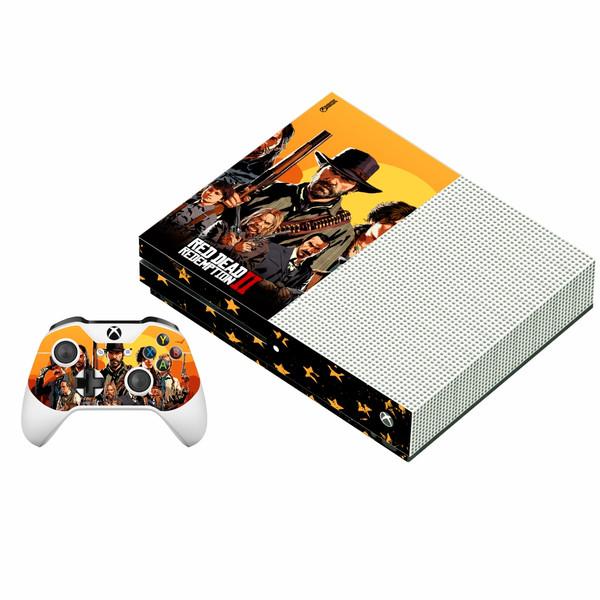 برچسب ایکس باکس وان اس پلی اینفینی مدل Red Dead Redemption 2 03 به همراه برچسب دسته